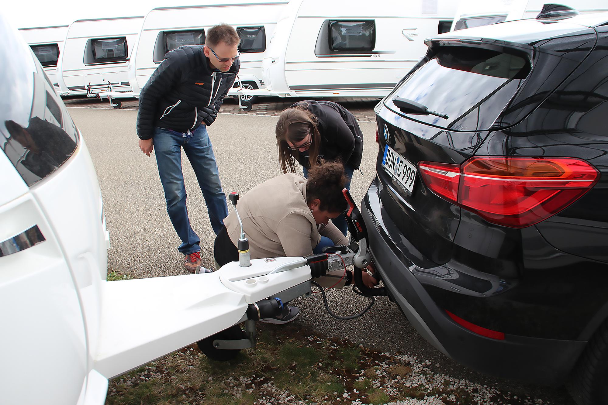 B96 bei Fendt-Caravan Praxis